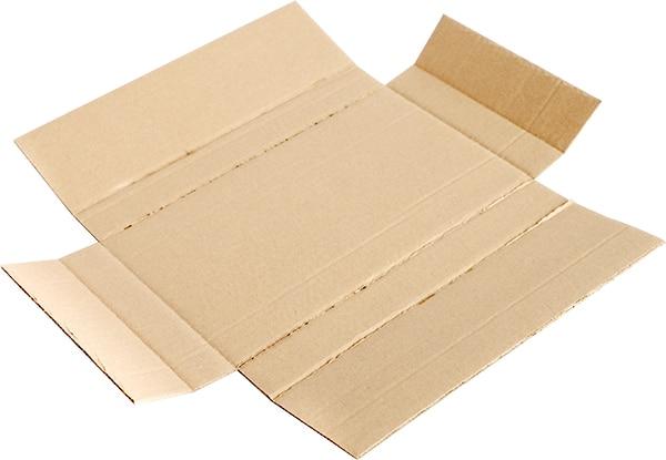 Emballage en croix