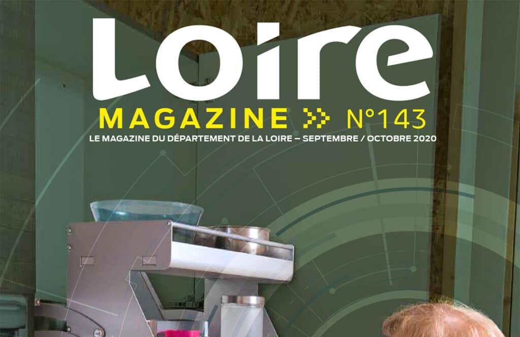 Revue de presse Loire Magazine : Découpe Stéphanoise, l'innovation naît de la crise